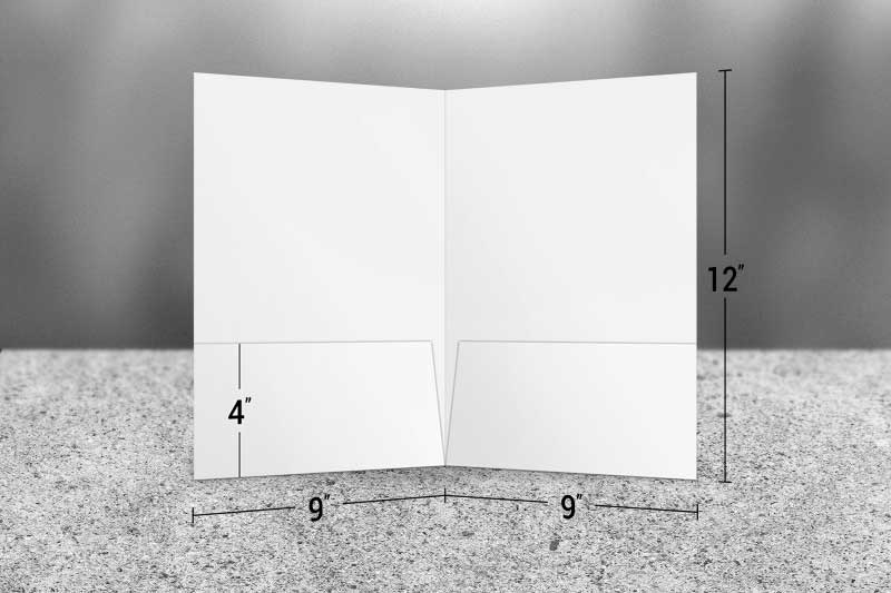 Folder Sizes A Guide To Standard Us Pocket Folder Dimensions Design Resources